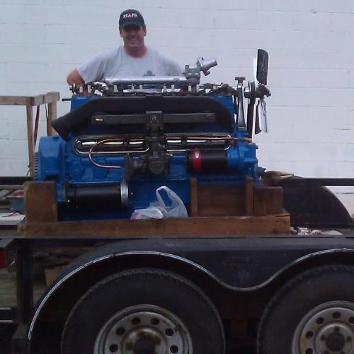 Truck Engine'