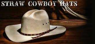 Staw Cowboy Hat'