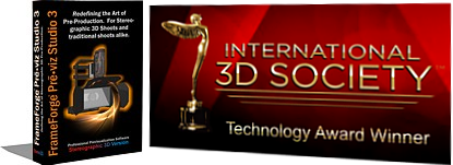 International 3D Society Technology Award Winner'