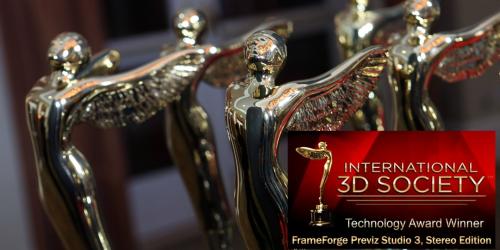 FrameForge Previz Studio 3, Stereo Edition wins Lumiere'