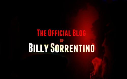 The Official Blog of Billy Sorrentino'
