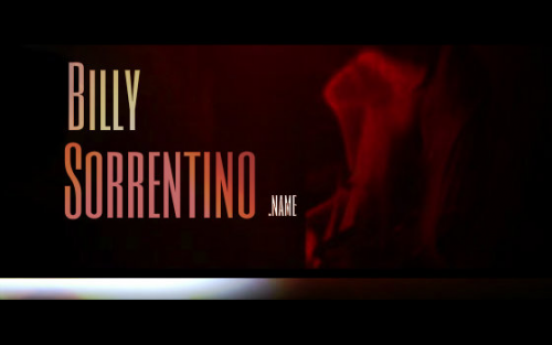 Billy Sorrentino Name'