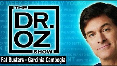 Dr Oz Garcinia Cambogia Select'