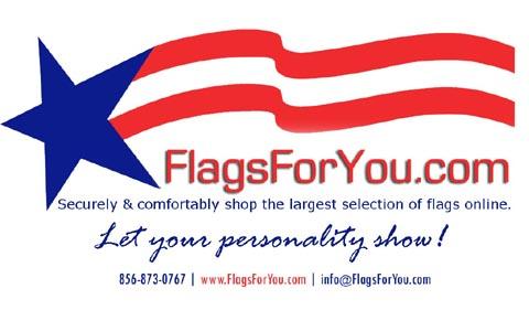 FlagsForYou.com garden flags logo'