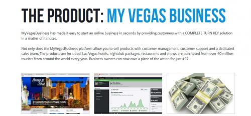 Troy Arnold's My Vegas Business'