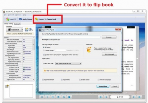 Boxoft PCL to Flipbook Review'