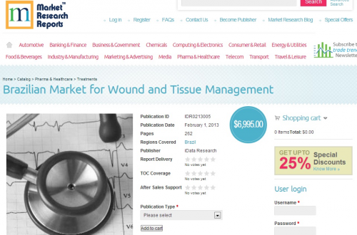 Brazilian Market for Wound and Tissue Management'