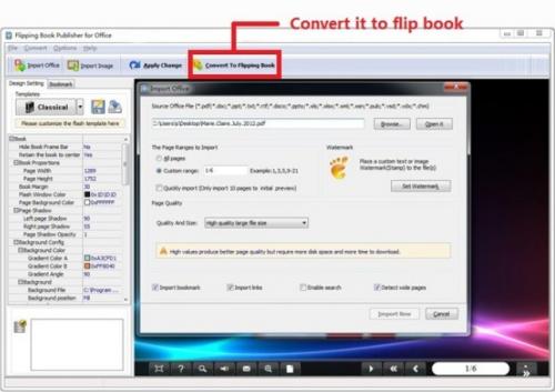 Boxoft Office to Flipbook'