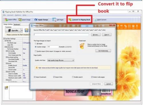 Boxoft Office to Flipbook Screenshot 2'