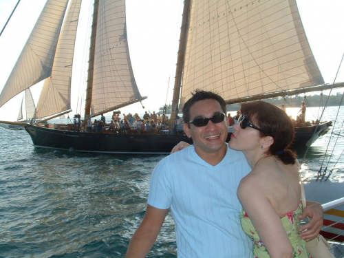 Key West is known for its romantic sunset cruises.'