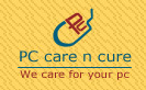 Logo for PCCareNCure'