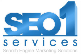 Logo for SEO 1 Services'