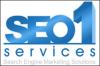 Logo for SEO 1 Services'