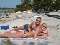 Chillaxing in Key West on Spring Break. Photo by BeachBum22