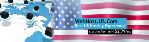 Logo for US Webhost Hosting - Webhost.US.Com'