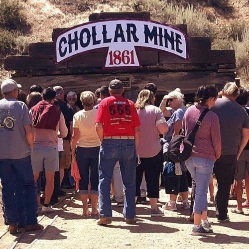 Company Logo For Chollar Mine Tours'