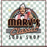 Marv's Classic Soda Shop Logo