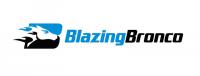 BlazingBronco Logo