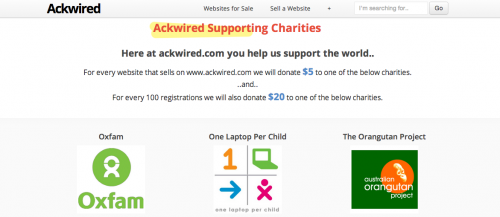 Supporting Charities'