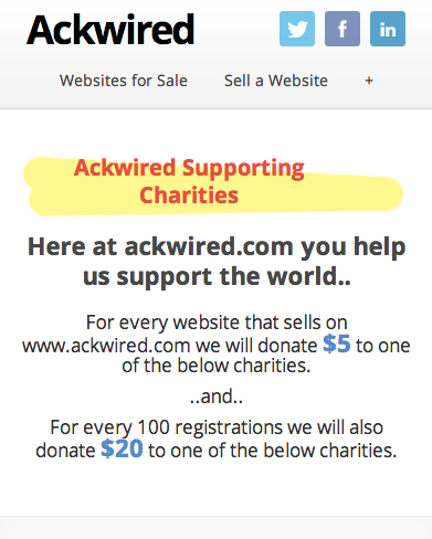 Supporting Charities Mobile'