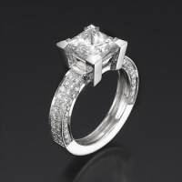 Cubic Zirconia rings selection