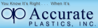 Accurate Plastics Inc Logo