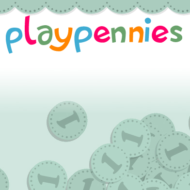 Logo for PlayPennies'