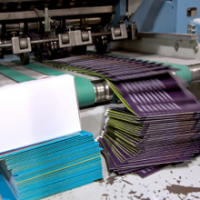 Quality Blue and Offset Printing Logo