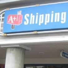 Company Logo For A+ Shipping Center'