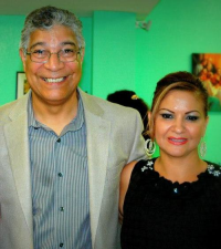 Bill Miranda and Power Media Group president, Patrica Gracia