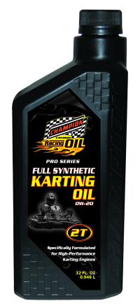 Champion Announces New Pro-Series Racing Karting Oil