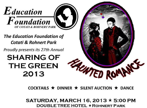 Annual Sharing of the Green Fundraiser'