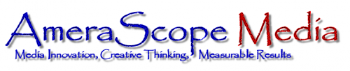 Logo for AmeraScope Media'