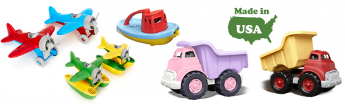 Green Toys now at Gibout Toys'