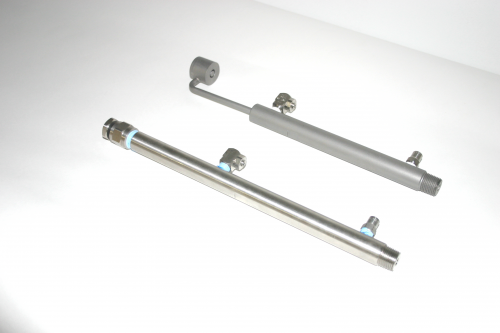 Standard and New Nozzle Assembly for Delatech Scrubber'