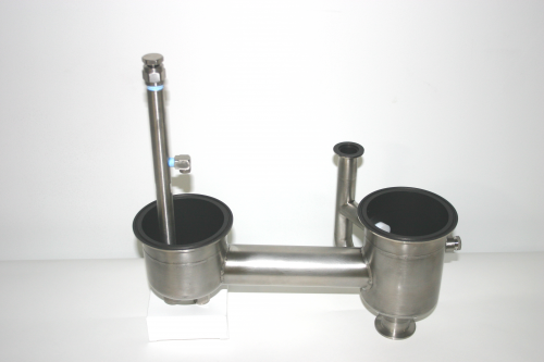 Standard drain with New Nozzle Assembly for Delatech Scrubbe'