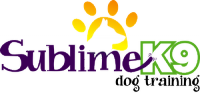 Sublime K9 Dog Training Logo