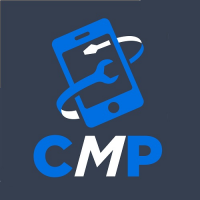 Cracked MyPhone Cellphone and Computer Repair Logo