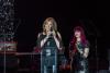 Tara Low receiving the Dreaming Out Loud Award.'