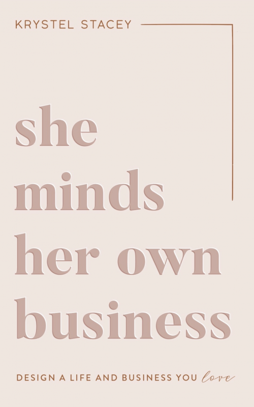 She Minds Her Own Business'