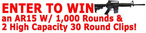 win an AR-15 rifle'