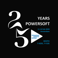Powersoft to Celebrate Quarter Century at ISE