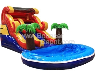 Commercial Inflatable Water Slide'