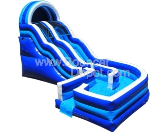 18 Ft Inflatable Water Slide