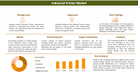 Industrial Printer Market to Reach US$ 17,781.3 Mn by 2027