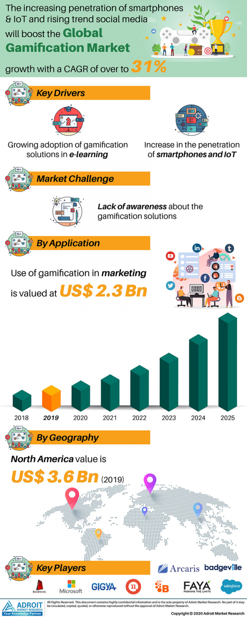 Gamification Market Global Industry Analysis 2025'