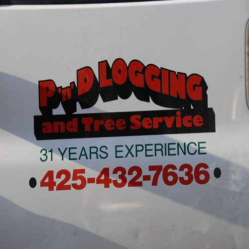 Company Logo For P'n'D Logging and Tree Service'