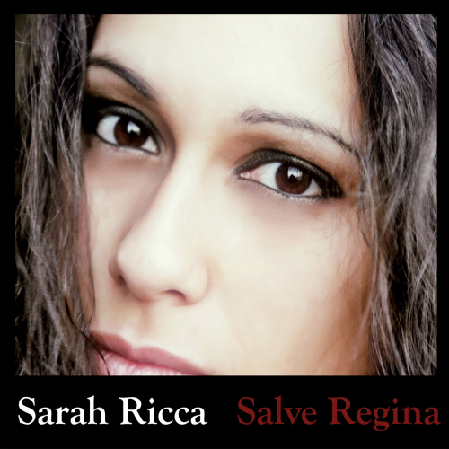 cover of single song Sarah Ricca - Salve Regina'