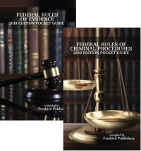 Federal Rules Pocket Guide Books