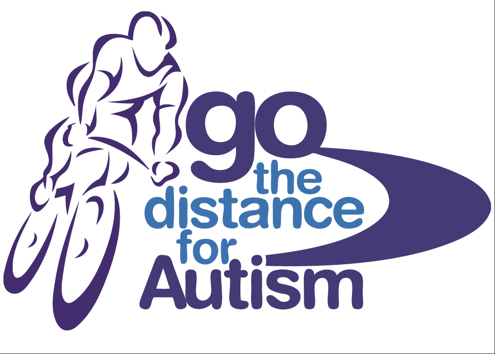 Go the Distance for Autism Logo